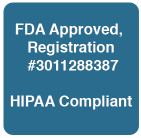EagleX FDA Approved, HIPAA Compliant